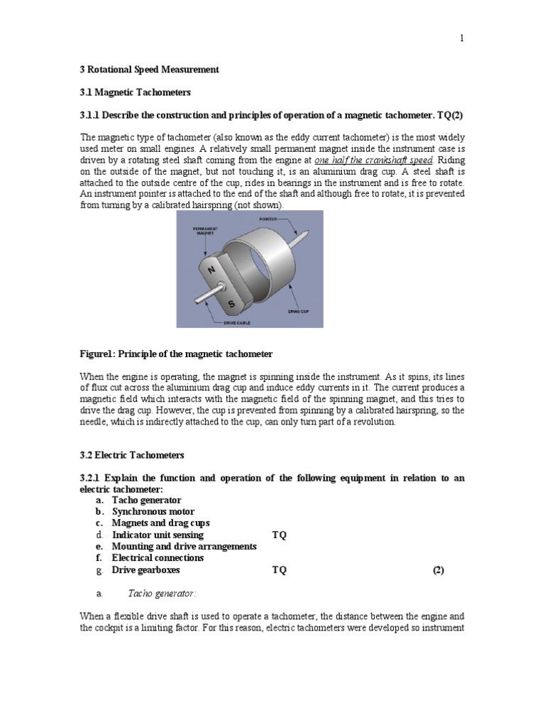 3 Rotational Speed Measurement | Electric Generator