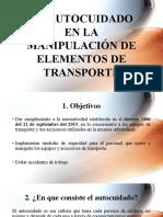 EL AUTOCUIDADO EN LA MANIPULACIÓN DE ELEMENTOS DE