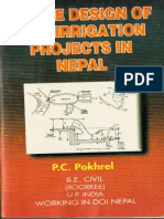 SIMPLE DESIGN OF HILL IRRIGATION PROJECTS IN NEPAL BY PC POKHREL.pdf