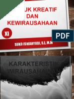 PKK KD 1 PERT. 3  Memahami sikap  dan perilaku wirausahawan