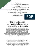 Conceptos Generales Proyectos
