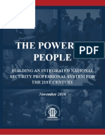 Power of People Report Natl Security