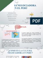 Cultura Negociadora en El Peru (1)