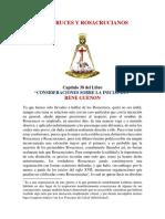 ROSACRUCES Y ROSACRUCIANOS - Rene Guenon