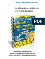 CREARE EBOOK - Report Gratuito