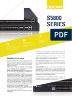 BDCOM S5800 Series