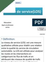 Niveau de service(LOS)