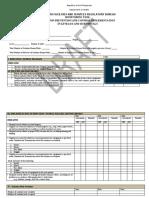 Monitoring Tool for Department Memorandum No. 2020- 0113