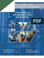TWI Egypt Training Examination Services