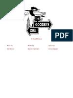 (Simon, Neil; Hamlisch, Marvin; Zippel, David) Goodbye Girl, the (The musical)