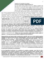 PREDICA L. (31MARZO 2019) EMPATÍA ES EL SEGUNDO MANDAMIENTO.docx