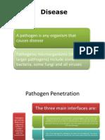 AS level biology AQA Disease