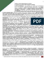 PREDICA L. (29Septiembre 2019) EL JUSTO JUICIO DE DIOS CON EQUIDAD DIVINA