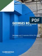 GEORGES ROUSSE GALERIE CLAIRE GASTAUD ////