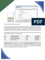 Software GBS Alimentando los Tipos de Documentos