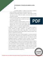 Seguridad Ciudadana y Violencia en America Latina