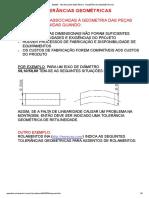 EM335 - TECNOLOGIA MECÂNICA- TOLERÂNCIAS GEOMÉTRICAS