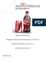 Reporte Botella de Cocacola