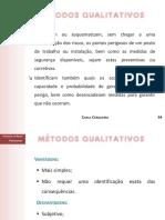 metodos qualitativos riscos