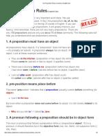 Six Preposition Rules _ Grammar _ EnglishClub