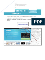 Tutorial Di Screenr