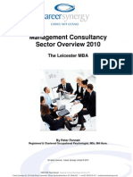 Leicester Mgt Consultancy Guide