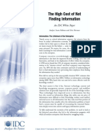 idc on the high cost of not finding information.pdf
