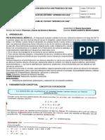 GUÍA DE ESTUDIO COMPLETA DEL TEMA POTENCIACIÓN Y RADICACIÓN (Matemáticas 6to)
