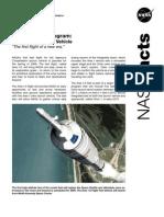 NASA Facts Constellation Program Ares I-X Flight Test Vehicle 2008