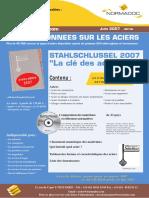 clé des aciers Edition 2006