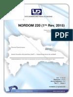 NORDOM 220 ( 1RA. Rev. 2015 )