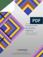 CUADERNILLO 3_CONSTRUCCIÓN DE PRUEBAS OBJETIVAS