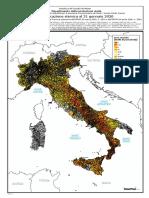 Mappa classificazione sismica al 31 gennaio 2020 per comuni