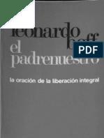 Leonardo Boff El padrenuestro la oracion de la liberacion integral
