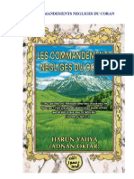 HARUN YAHYA - French - LES COMMANDEMENTS NEGLIGÉS DU CORAN
