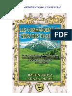 HARUN YAHYA - French - LES COMMANDEMENTS NEGLIGÉS DU CORAN