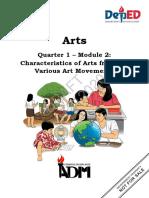 ARTS10_q1_mod2_Characteristics-of-Arts-from-the-Various-Art-Movements-FINAL.pdf