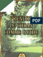 Harun Yahya - French - Prendre Le Coran Comme Guide