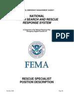 Rescue Specialist