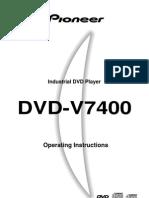 Pioneer DVD-V7400