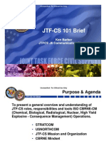 Joint Task Force Civil Support Brief NORTHCOM