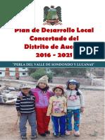 PDLC - AUCARÁ 2016-2021
