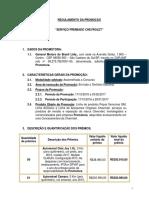 Chevrolet Regulamento