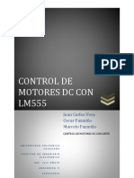 Control de Motores Dc Con Lm555