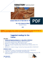 Unit 1 NOTES pdf - INTRODUCTORY GEOLOGY 310818-converted