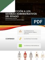 Introducción a los sistemas administrativos del Estado