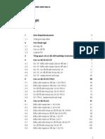 Danh sách các loại lỗi trong BSC R07B