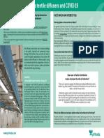 Prihoda Fabric Ducting and COVID-19