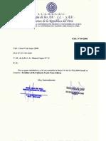 Irradiación Q.H. Umberto Tosso Gálvez