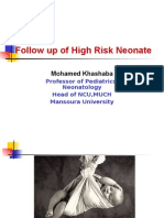 Follow up of High Risk Neonate